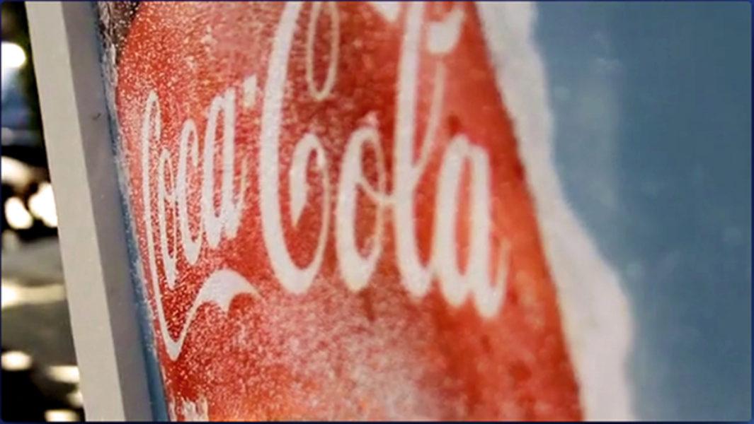 Coca Cola Ice Billboard